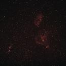 Heart Nebula in Ha,                                Mo