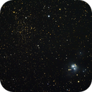 NGC 7129 and NGC 7142,                                Johannes D. Clausen
