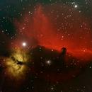 Horsehead Nebula / Flame Nebula,                                John Smart