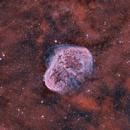 Crescent Nebula - NGC 6888,                                Hytham