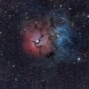 Trifid a nebula tutti frutti: emission, reflection, dark...pick your flavour,                                Guillermo Gonzalez