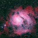 Lagoon Nebula LRGB,                                Rob Fink