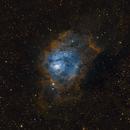 M8-The Lagoon nebula in narrowband,                                gibran85
