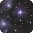 M45 - The Pleiades,                                Barry E.