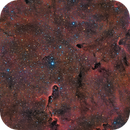 IC1396 - Nebulosa Trompa de Elefante (Elephant Trunk Nebula) en HaRGB,                                Alfredo Beltrán