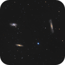 The Leo Triplet (LRGB),                                Scott Davis