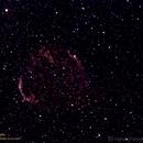 Cygnus Loop in H-Alpha,                                Hans-Peter Olschewski