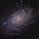 Messier 33,                                Le Mouellic Guill...