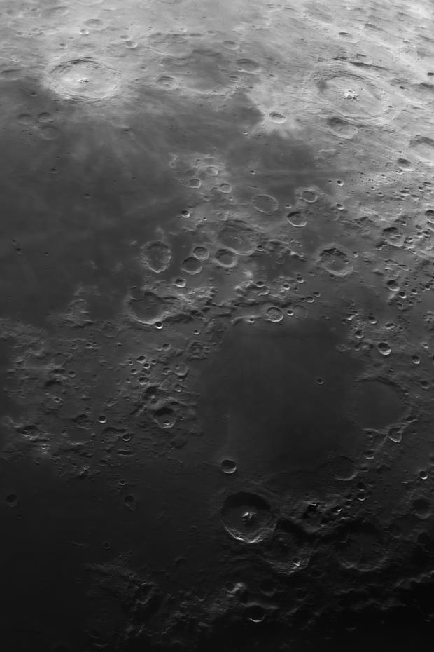 Langrenus, Petavius and Theopilus,                                VM