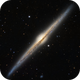 The Needle Galaxy Annotated,                                Vitali
