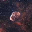 NGC 6888 Bicolor,                                angelo mazzotti