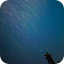 Orion, Canis Minor, Canis Major and Monoceros Constellations through the clouds,                                bilgebay