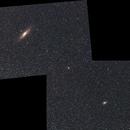Galaxie d' Andromède et du Triangle ,                                grizli21