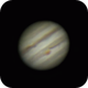 Animation of Jupiter with 150/750 Newton,                                Arno Rottal