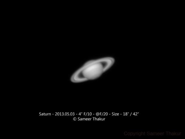 Saturn,                                thakursam