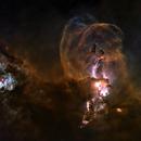 Starless Statue of Liberty Nebula NGC 3576,                                dts350z