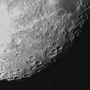 Last Data Set for Waning Gibbous Moon in Twilight (crop),                                Steve Lantz