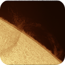Prominences 2021.08.19 Solar Refractor 228 F8,                                Alessandro Bianconi