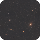 NGC 4535, M49 and friends - imaged from the city,                                Sektor