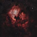 NGC 7000 North America Nebula - IC 5070 Pelican Nebula 20200517 25544s LHaRGB 01.8.3,                                Allan Alaoui