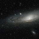 Andromeda Galaxy M31,                                Nicolas Escurat
