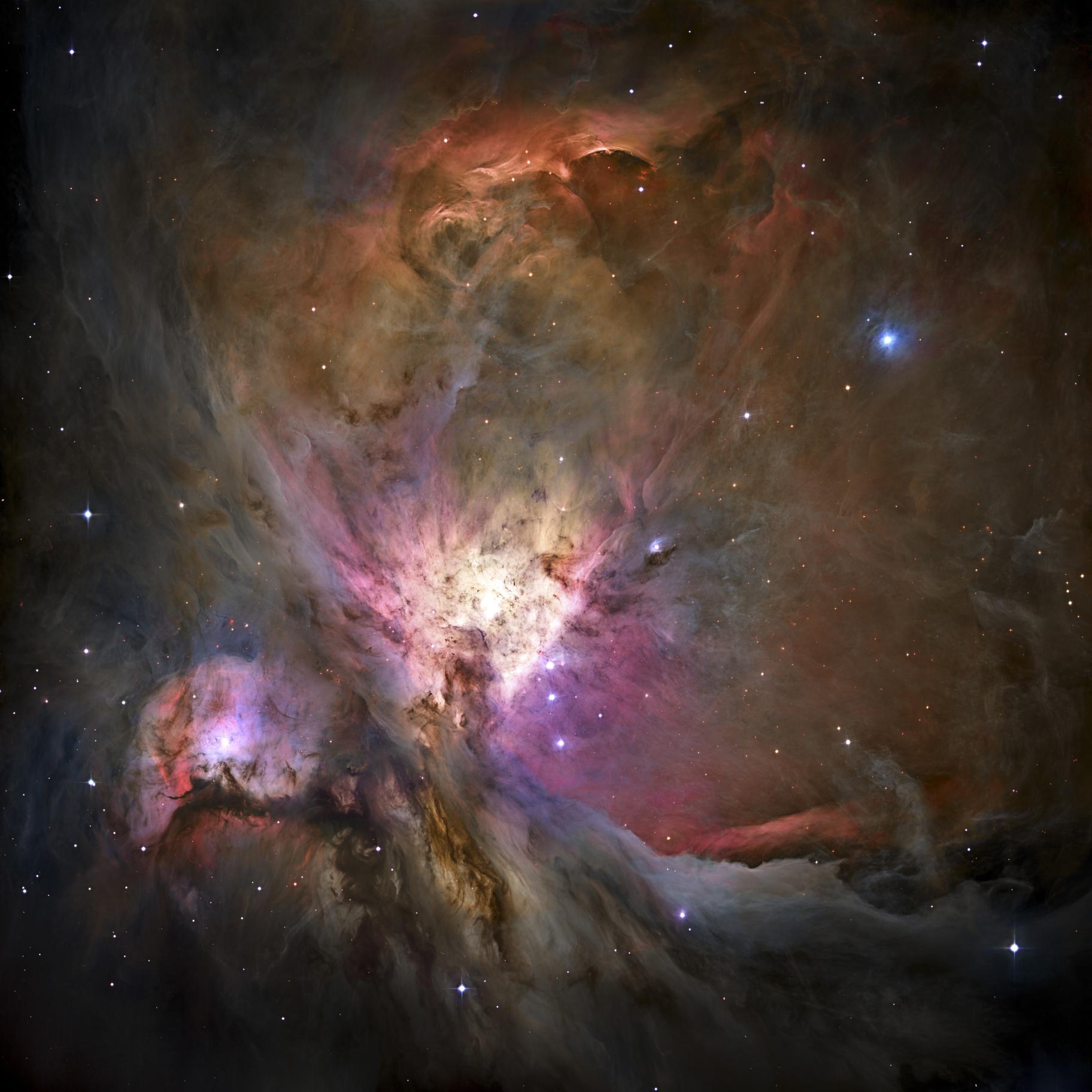 Hubble M42 Processed in PixInsight,                                Dan West