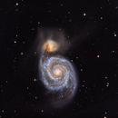 M51 Whirlpool Galaxy,                                John Rathbun