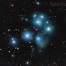 Pleiades (M45),                                Roberto Frassi
