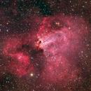 Swan Nebula (M17) - Deep Sky West Remote Observatory,                                Deep Sky West (Ll...