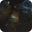 Filed around NGC7635 Bubble Nebula  with NGC7538, M52 and part of  SH2-157 in SHO Hubblecolors$.,                                Dieter333