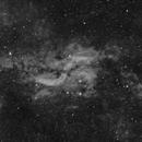 Propeller Nebula in H-alpha,                                Jason Tackett