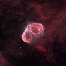NGC 6888 - The Crescent Nebula,                                blastrophoto