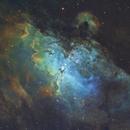 M16 THE EAGLE NEBULA,                                Anthony Husson