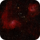 Flaming Star with Tadpole and spider nebulas,                                MirachsGhost
