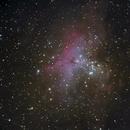 Nebulosa Aquila,                                gagba