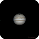 Callisto's shadow and Io,                                Fabio Mirra