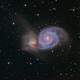 M51,Whirlpool Galaxy,                                Zhaoqi Li