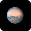 Mars, near closest approach, with Olympus Mons prominent,                                Niall MacNeill