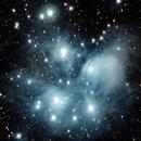 Pleiades M45,                                WAskywatcher