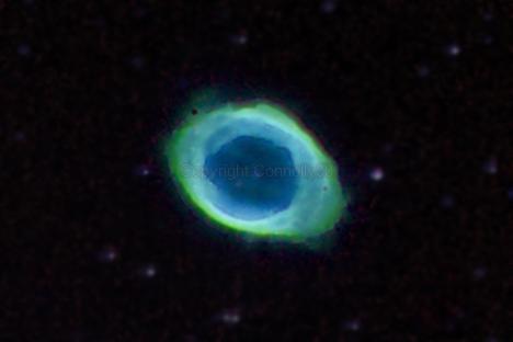 Ring Nebula - NGC 6720, M57,                                Connolly33