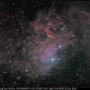 IC 405, Flaming Star Nebula, ASI1600MM-Cool+AT8IN First Light, HαLRGB, 26 Dec 2016,                                David Dearden