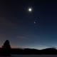 Conjonction de Jupiter, Lune et Vénus (Jupiter, Moon and Venus conjunction),                                AstroGG