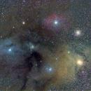 Regione di Rho Ophiuchi e Antares,                                GALASSIA 60
