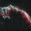 NGC 6992 – Eastern Veil Nebula HaOIII,                                gigiastro