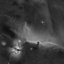Horse Head Nebula in HA,                                Ola Skarpen SkyEyE