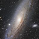 M31 Andromeda Mosaic,                                Sven Hoffmann