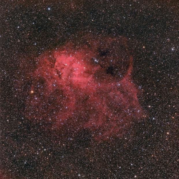 La nebulosa Sh2-132,                                gagba