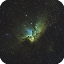 NGC 7380 - The Wizard Nebula [SHO/HOO],                                jdifool
