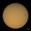 Tache solaire du 27 octobre 2014,                                JLem@ire