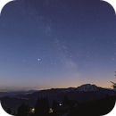 Timelapse Milky Way with rising Moon - Emberger Alm Austria,                                Christian Kussberger